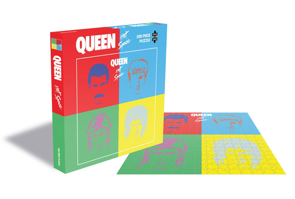 HOT SPACE (500 PIECE JIGSAW PUZZLE) by QUEEN Puzzle  RSAW198PZ