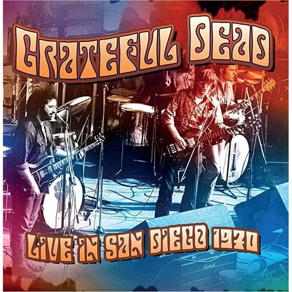 LIVE IN SAN DIEGO 1970 by GRATEFUL DEAD Compact Disc Digi  RVCD2172
