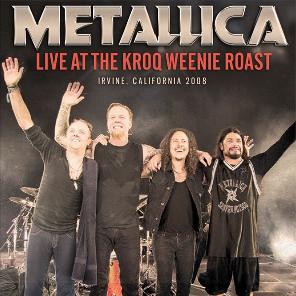 LIVE AT THE KROQ WEENIE ROAST by METALLICA Compact Disc SMCD979