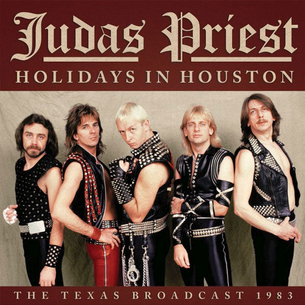HOLIDAYS IN HOUSTON by JUDAS PRIEST Compact Disc  SMCD980