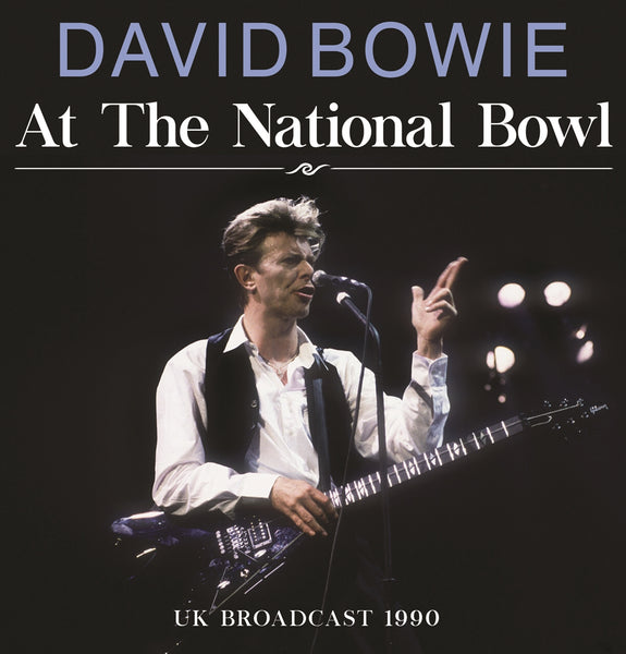 AT THE NATIONAL BOWL by DAVID BOWIE Compact Disc UNCD025