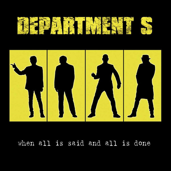WHEN ALL IS SAID AND ALL IS DONE  by DEPARTMENT S  Compact Disc  WW0095CD