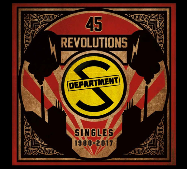 45 REVOLUTIONS: SINGLES 1980 - 2017  by DEPARTMENT S  Compact Disc Digi  WW0111CDD