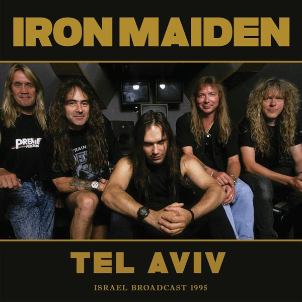 TEL AVIV by IRON MAIDEN Compact Disc ZCCD106