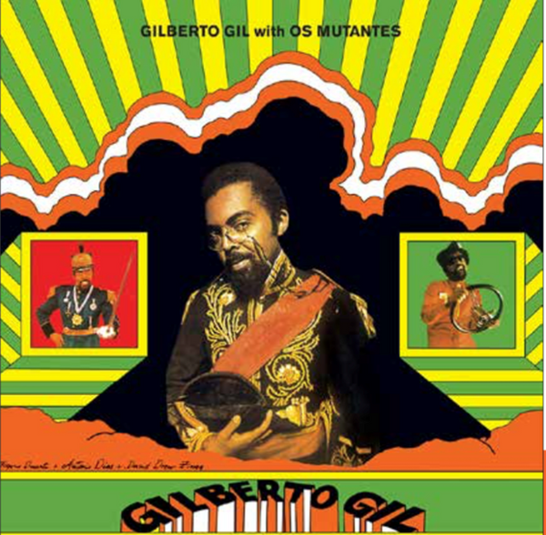 GILBERTO GIL With Os Mutantes ACL0053 vinyl lp reissue
