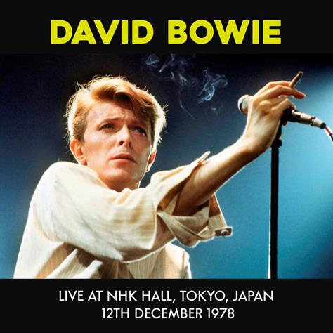 BOWIE, DAVID - Live at NHK Hall, Tokyo, Japan 12th December 1978  VINYL LP  MIND CONTROL MIND768