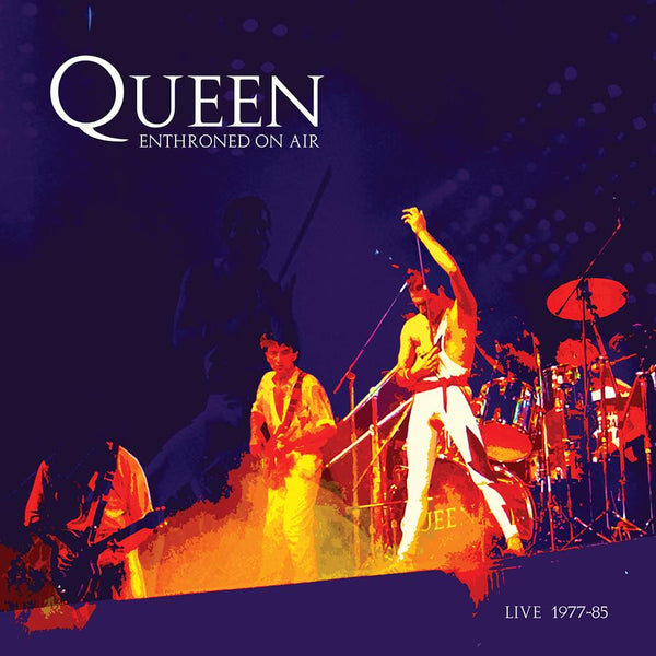 QUEEN  ENTHRONED ON AIR   180g RED Vinyl   Pearl Asylum  PEARLALP005-RED