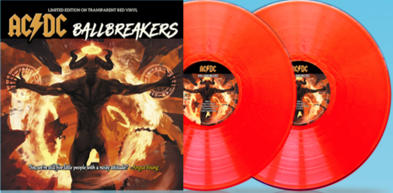 "AC/DC     Ballbreakers (Red Vinyl) x 2   10""  ltd / 1000  CPLTIV027"