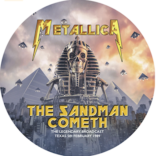 METALLICA The Sandman Cometh - Picture Disc CRLPD017 vinyl lp LTD EDITION