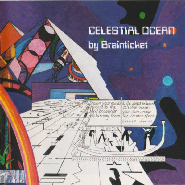 BRAINTICKET - Celestian Ocean  COLOR Clear Vinyl lp LR307C