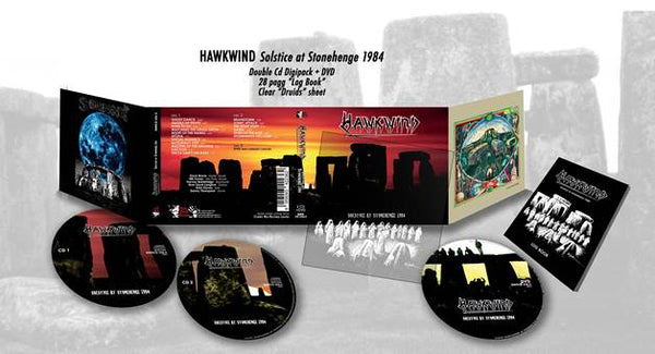 HAWKWIND – Solstice at Stonehenge 1984  CDX2+DVD box set