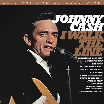 Johnny Cash - I Walk The Line Numbered Limited Edition 180g 45rpm Vinyl 2LP MFSL
