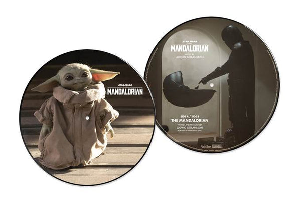 "Theme from The Mandalorian 10 "" vinyl LP PICTURE DISC (STAR WARS)"