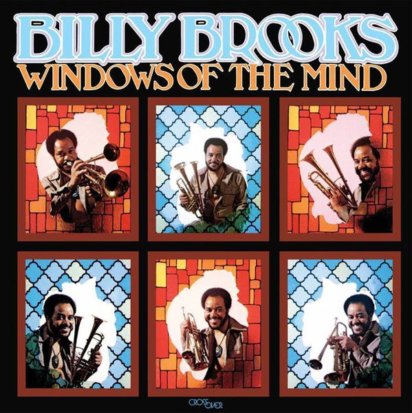BILLY BROOKS WINDOWS OF THE MIND compact disc WWSCD41