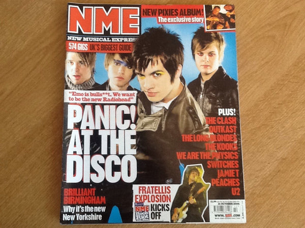 New musical express magazine 21st October 2006