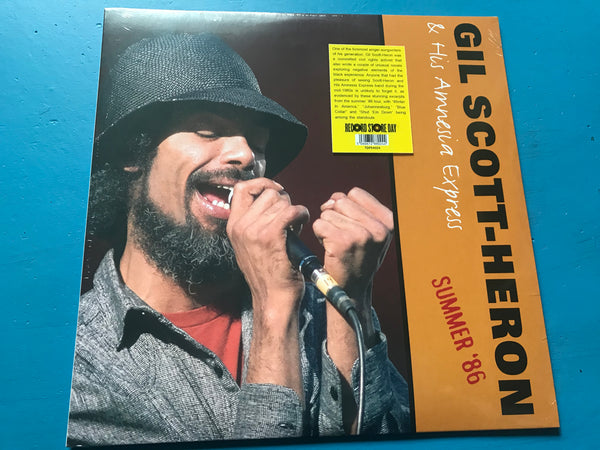Gil Scott-Heron And His Amnesia Express ‎– Summer '86 vinyl lp rsd 2020