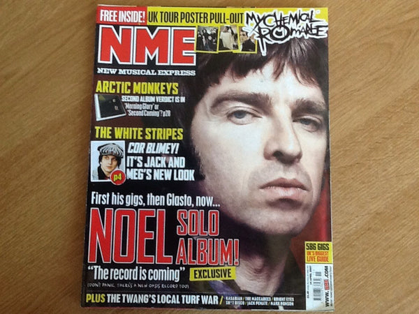 New musical express magazine 14th April 2007