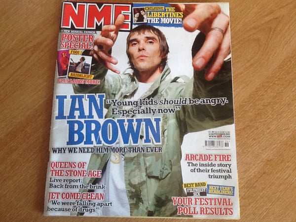 New musical express magazine 10th September 2005