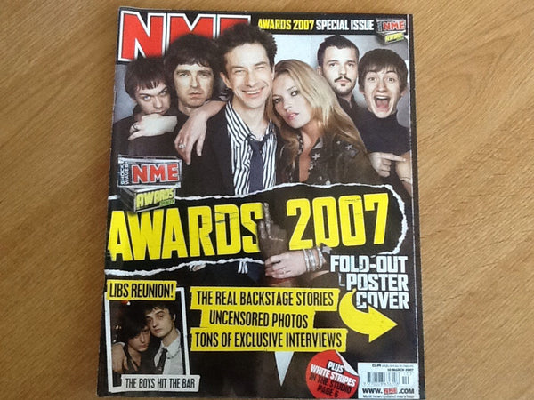 New musical express magazine 10th march 2007