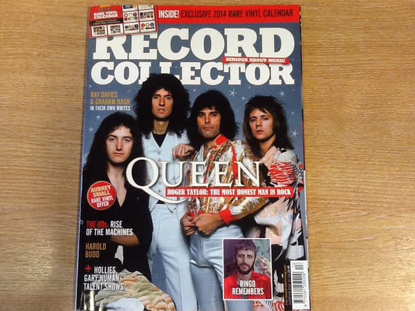 Record collector magazine christmas 2013 No 422