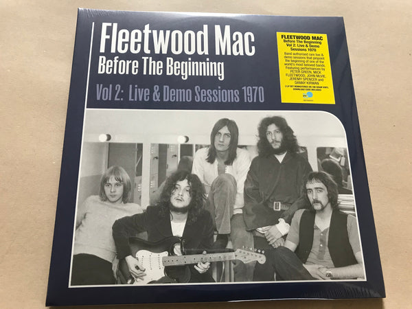 Fleetwood Mac ‎– Before The Beginning (Vol 2: Live & Demo Sessions 1970) 3 x vinyl lp