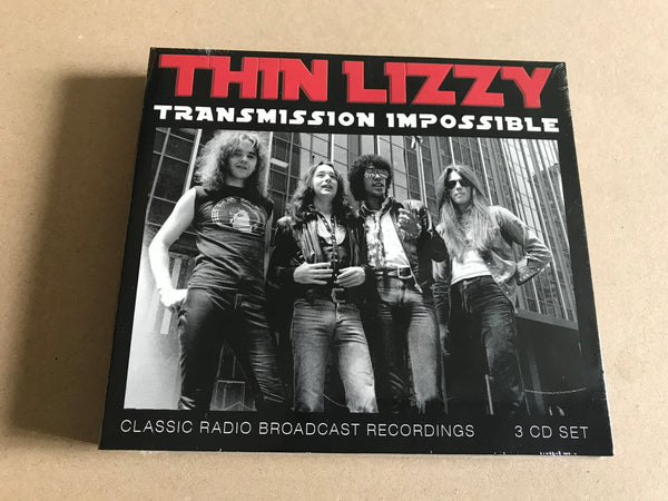 TRANSMISSION IMPOSSIBLE (3CD) by THIN LIZZY Compact Disc - 3 CD Box Set