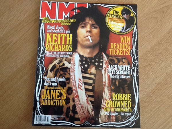 New musical express magazine 9th august 2003