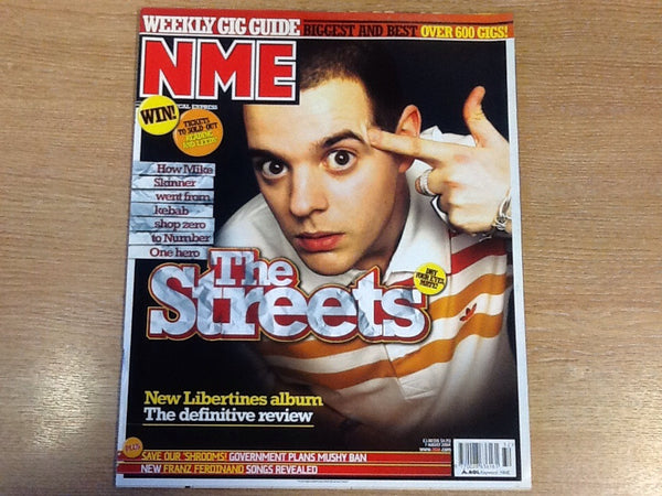 New musical express magazine 7th august 2004