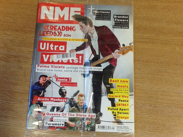 New musical express magazine 30th august 2014