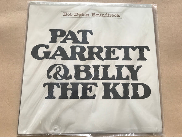 Bob Dylan Pat Garrett & Billy the Kid ltd Numbered180g vinyl lp MFSL PRESSING