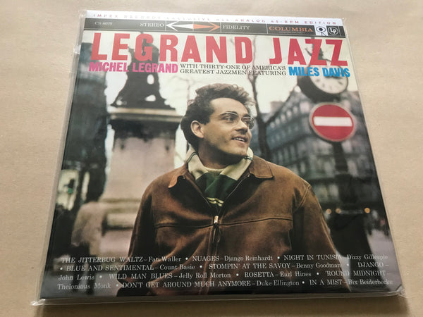 Michel Legrand Legrand Jazz 180gm 45rpm 2LP Numbered Ltd