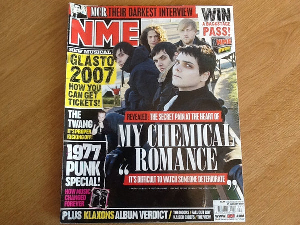 New musical express magazine 27th January 2007