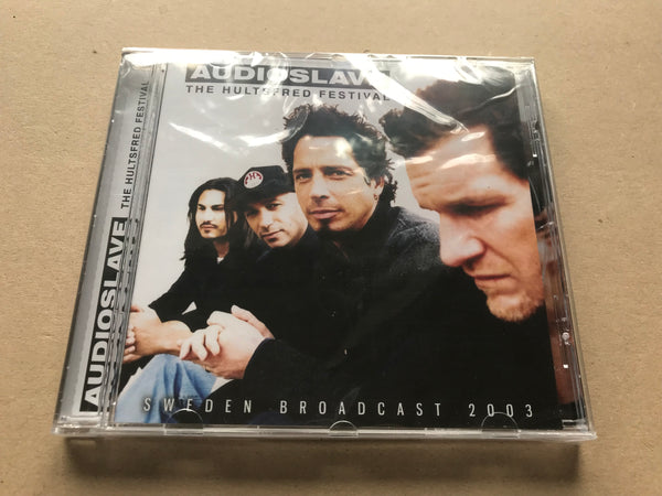 THE HULTSFRED FESTIVAL by AUDIOSLAVE Compact Disc SUCD119