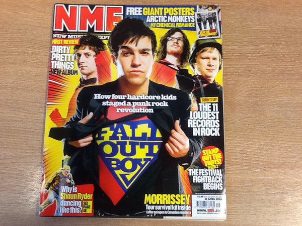New musical express magazine 22nd April 2006