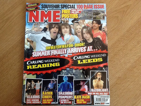 New musical express magazine 1st September 2007