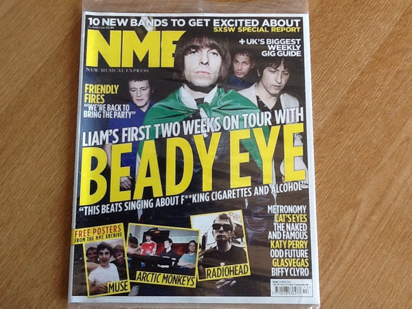 New musical express magazine 2nd April 2011