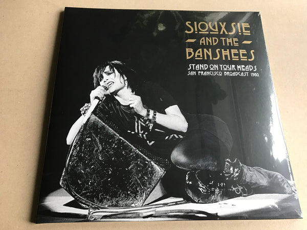 STAND ON YOUR HEADS by SIOUXSIE & THE BANSHEES Vinyl Double Album DET006