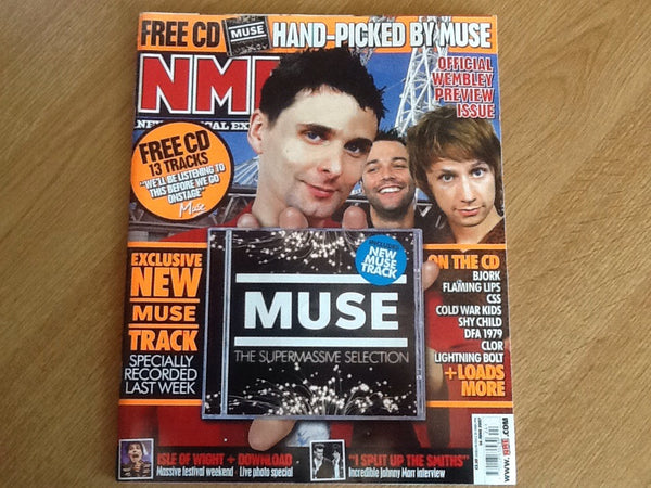 New musical express magazine 16th june 2007