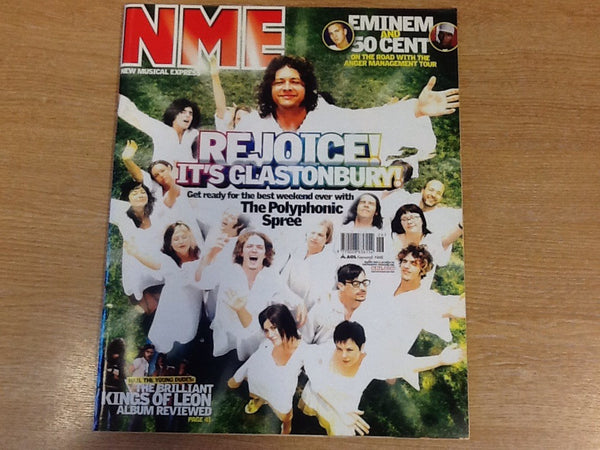 New musical express magazine 28th June 2003