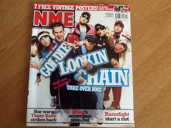 New musical express magazine 9th October 2004