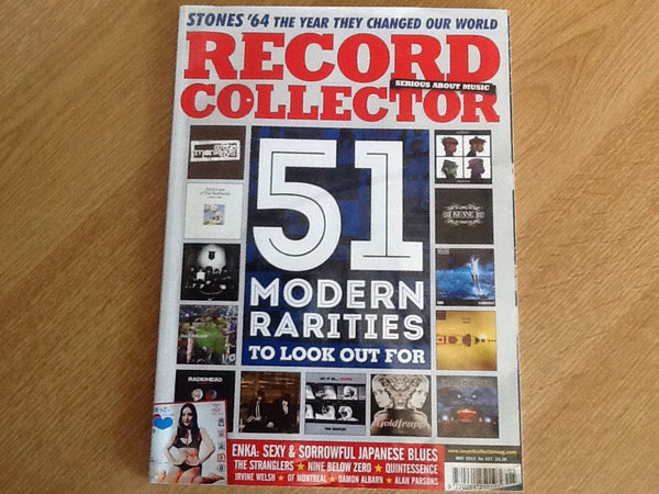 Record collector magazine may 2014