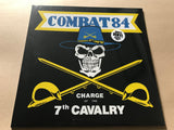 THE CHARGE OF THE 7TH CAVALRY + DOWNLOAD CODE by COMBAT 84 Vinyl LP white