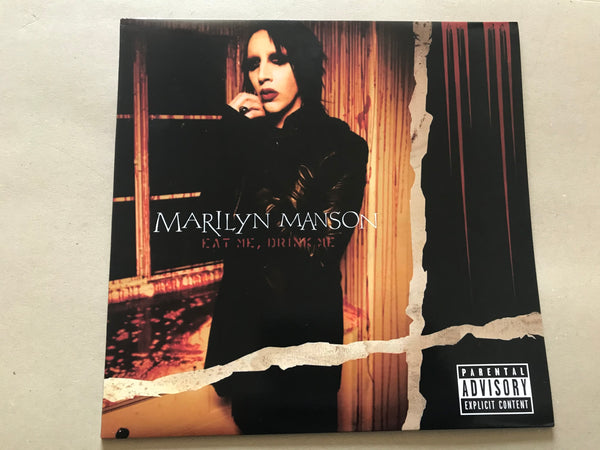 Marilyn Manson ‎– Eat Me, Drink Me black vinyl lp [ includes poster ]