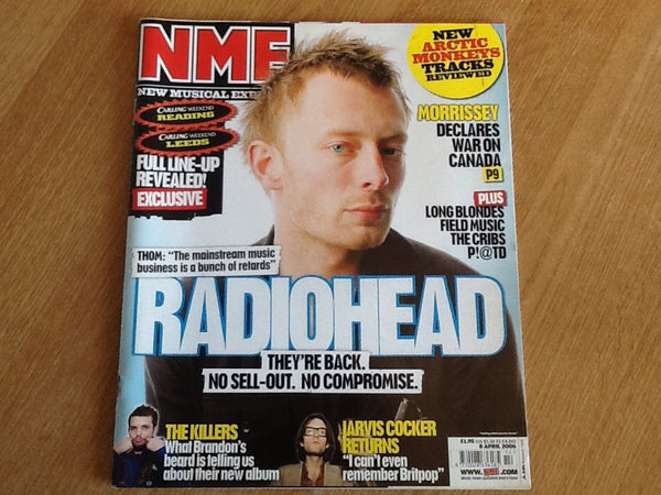 New musical express magazine 8th April 2006
