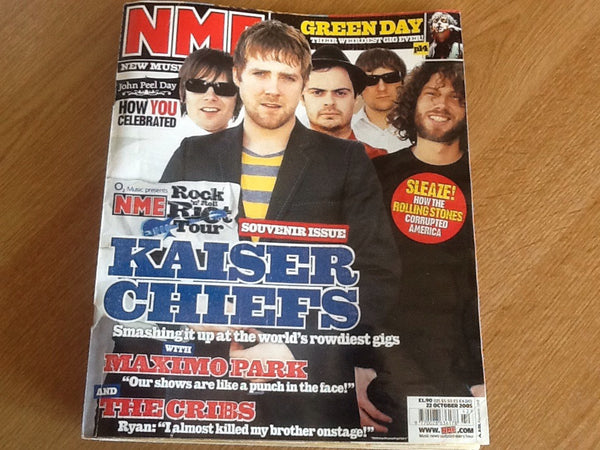 New musical express magazine 22nd October  2005