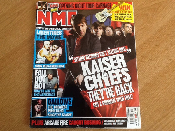 New musical express magazine 10th February 2007