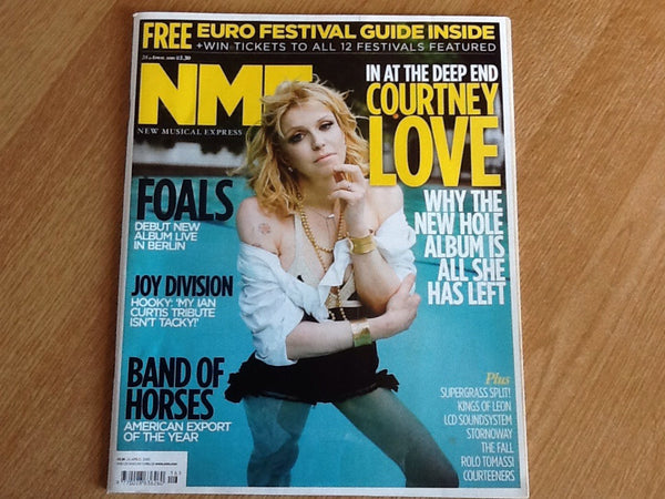 New musical express magazine 24th April 2010