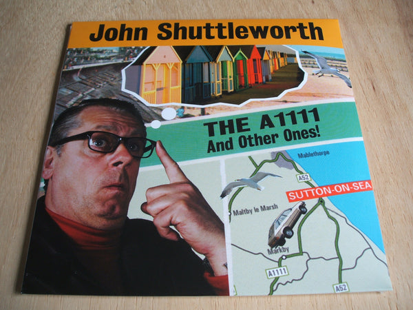 john shuttleworth The A1111 And Other Ones!  double vinyl 2 x lp set 2017 issue