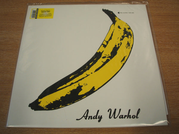 "the velvet underground & nico 2008 vinyl lovers label 12 "" vinyl lp peelable banana sleeve"