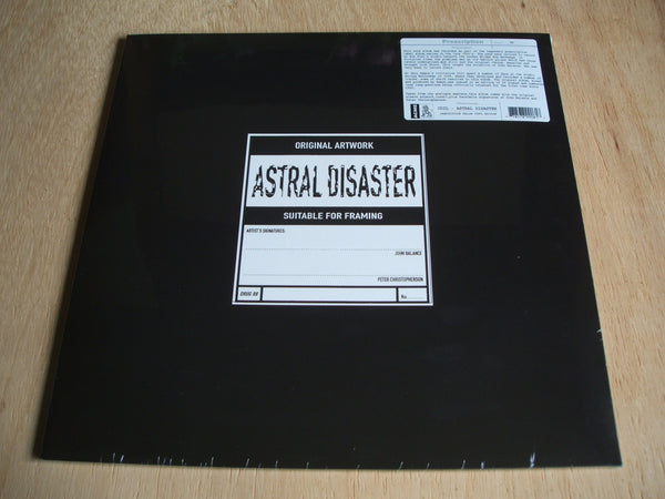 "coil astral disaster 2017 uk yellow vinyl reissue 12 "" lp mint sealed new"